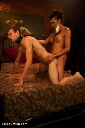 Photo number 18 from TS Yasmin Lee as Cleopatra: TsSeduction.com Special Feature shot for TS Seduction on Kink.com. Featuring Yasmin Lee and Blake in hardcore BDSM & Fetish porn.