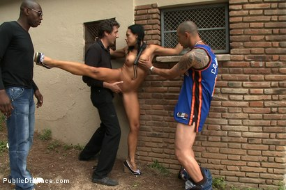 Photo number 12 from Naked in the Streets shot for Public Disgrace on Kink.com. Featuring Steve Holmes and Lara Tanelli in hardcore BDSM & Fetish porn.