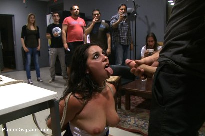 Photo number 13 from Public Ass Fucking shot for Public Disgrace on Kink.com. Featuring James Deen, Salma de Nora and Princess Donna Dolore in hardcore BDSM & Fetish porn.