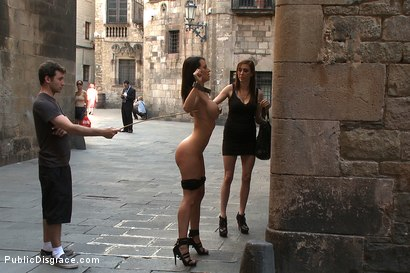 Photo number 4 from Penthouse Pet Franceska Jaimes is Publicly Caned and Fucked shot for Public Disgrace on Kink.com. Featuring James Deen, Franceska Jaimes and Princess Donna Dolore in hardcore BDSM & Fetish porn.