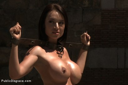 Photo number 2 from Penthouse Pet Franceska Jaimes is Publicly Caned and Fucked shot for publicdisgrace on Kink.com. Featuring James Deen, Franceska Jaimes and Princess Donna Dolore in hardcore BDSM & Fetish porn.