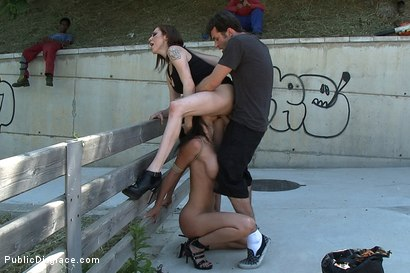 Photo number 8 from Penthouse Pet Franceska Jaimes is Publicly Caned and Fucked shot for publicdisgrace on Kink.com. Featuring James Deen, Franceska Jaimes and Princess Donna Dolore in hardcore BDSM & Fetish porn.
