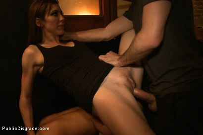 Photo number 13 from Penthouse Pet Franceska Jaimes is Publicly Caned and Fucked shot for Public Disgrace on Kink.com. Featuring James Deen, Franceska Jaimes and Princess Donna Dolore in hardcore BDSM & Fetish porn.