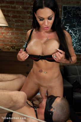 Photo number 7 from Mia Isabella's Desires Part 2: Decesions, Decesions shot for TS Seduction on Kink.com. Featuring Mia Isabella, Ty Roderick and Lorelei Lee in hardcore BDSM & Fetish porn.