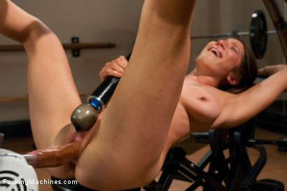 Photo number 14 from SQUIRTING, CUMMING, CRYING, ORGASMS shot for Fucking Machines on Kink.com. Featuring Vai in hardcore BDSM & Fetish porn.