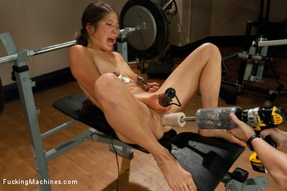 Photo number 10 from So Much SQUIRT from Machine FISTING shot for Fucking Machines on Kink.com. Featuring Vai in hardcore BDSM & Fetish porn.