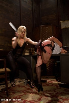 Photo number 3 from Power Of Attorney shot for Whipped Ass on Kink.com. Featuring Ashley Fires and Roxanne Hall in hardcore BDSM & Fetish porn.