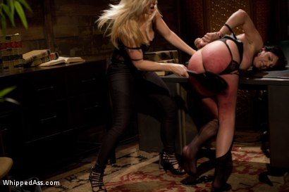 Photo number 4 from Power Of Attorney shot for Whipped Ass on Kink.com. Featuring Ashley Fires and Roxanne Hall in hardcore BDSM & Fetish porn.