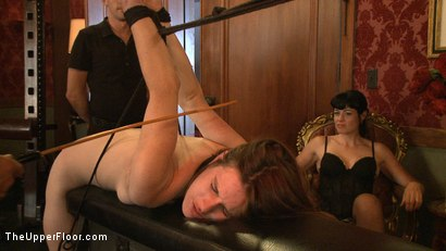 Photo number 15 from Stefanos' Community Brunch shot for The Upper Floor on Kink.com. Featuring Maestro Stefanos, Skin Diamond, Nerine Mechanique and Lilla Katt in hardcore BDSM & Fetish porn.