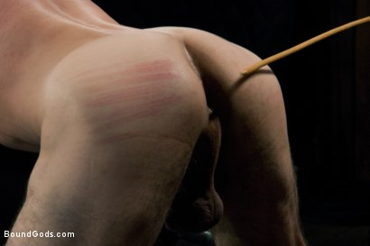 Photo number 7 from Jason Miller - Ripped and Ready for Hard Punishment shot for Bound Gods on Kink.com. Featuring Master Avery and Jason Miller in hardcore BDSM & Fetish porn.