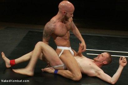 Photo number 4 from Drake Jaden vs Patrick Hunt shot for Naked Kombat on Kink.com. Featuring Drake Jaden and Patrick Hunt in hardcore BDSM & Fetish porn.