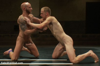 Photo number 8 from Drake Jaden vs Patrick Hunt shot for Naked Kombat on Kink.com. Featuring Drake Jaden and Patrick Hunt in hardcore BDSM & Fetish porn.