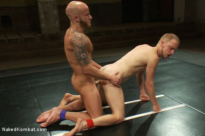 Photo number 14 from Drake Jaden vs Patrick Hunt shot for Naked Kombat on Kink.com. Featuring Drake Jaden and Patrick Hunt in hardcore BDSM & Fetish porn.