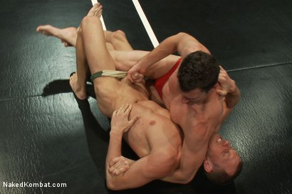 Photo number 2 from Kyle Braun vs Kyle Quinn shot for Naked Kombat on Kink.com. Featuring Kyle Braun and Kyle Quinn in hardcore BDSM & Fetish porn.