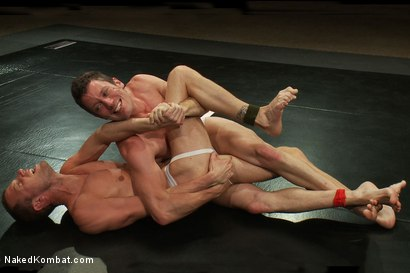 Photo number 3 from Kyle Braun vs Kyle Quinn shot for Naked Kombat on Kink.com. Featuring Kyle Braun and Kyle Quinn in hardcore BDSM & Fetish porn.