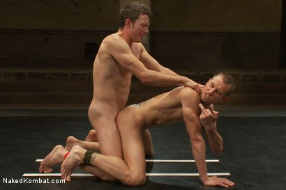 Photo number 14 from Kyle Braun vs Kyle Quinn shot for Naked Kombat on Kink.com. Featuring Kyle Braun and Kyle Quinn in hardcore BDSM & Fetish porn.