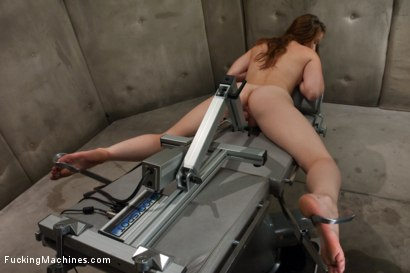 Photo number 4 from So new She Squeaks More than The Machines: Shagging an Amateur shot for Fucking Machines on Kink.com. Featuring Sofia Lauryn in hardcore BDSM & Fetish porn.