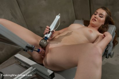 Photo number 3 from So new She Squeaks More than The Machines: Shagging an Amateur shot for Fucking Machines on Kink.com. Featuring Sofia Lauryn in hardcore BDSM & Fetish porn.
