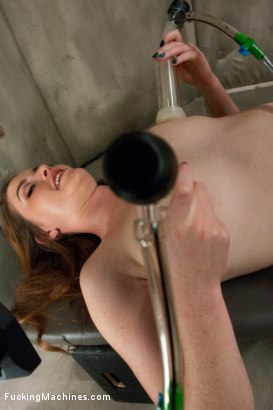 Photo number 14 from So new She Squeaks More than The Machines: Shagging an Amateur shot for Fucking Machines on Kink.com. Featuring Sofia Lauryn in hardcore BDSM & Fetish porn.