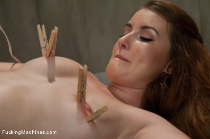 Photo number 8 from So new She Squeaks More than The Machines: Shagging an Amateur shot for Fucking Machines on Kink.com. Featuring Sofia Lauryn in hardcore BDSM & Fetish porn.