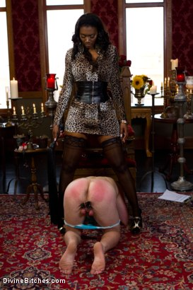 Photo number 10 from The Price Of Being Inadequate: Episode 1 shot for Divine Bitches on Kink.com. Featuring Skyeboy and Nyomi Banxxx in hardcore BDSM & Fetish porn.