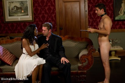 Photo number 2 from Rich Cuck Doesn't = Well-Endowed Cuck shot for Divine Bitches on Kink.com. Featuring Shaun Diesel , Nyomi Banxxx and Roue in hardcore BDSM & Fetish porn.