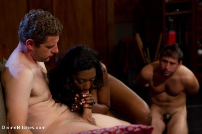 Photo number 13 from Rich Cuck Doesn't = Well-Endowed Cuck shot for Divine Bitches on Kink.com. Featuring Shaun Diesel , Nyomi Banxxx and Roue in hardcore BDSM & Fetish porn.