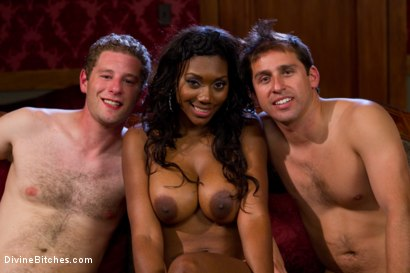 Photo number 8 from Rich Cuck Doesn't = Well-Endowed Cuck shot for Divine Bitches on Kink.com. Featuring Shaun Diesel , Nyomi Banxxx and Roue in hardcore BDSM & Fetish porn.