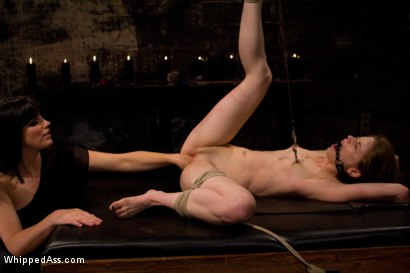 Photo number 5 from Petite Bondage Slut: Sensi Pearl shot for Whipped Ass on Kink.com. Featuring Bobbi Starr and Sensi Pearl in hardcore BDSM & Fetish porn.