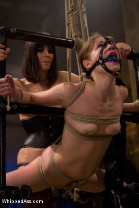 Photo number 8 from Petite Bondage Slut: Sensi Pearl shot for Whipped Ass on Kink.com. Featuring Bobbi Starr and Sensi Pearl in hardcore BDSM & Fetish porn.