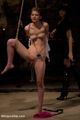 Photo number 12 from Petite Bondage Slut: Sensi Pearl shot for Whipped Ass on Kink.com. Featuring Bobbi Starr and Sensi Pearl in hardcore BDSM & Fetish porn.