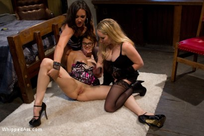 Photo number 3 from Lesbian Seduction shot for Whipped Ass on Kink.com. Featuring Aiden Starr, Lux Leota and Sinn Sage in hardcore BDSM & Fetish porn.