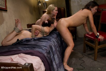 Photo number 13 from Lesbian Seduction shot for Whipped Ass on Kink.com. Featuring Aiden Starr, Lux Leota and Sinn Sage in hardcore BDSM & Fetish porn.