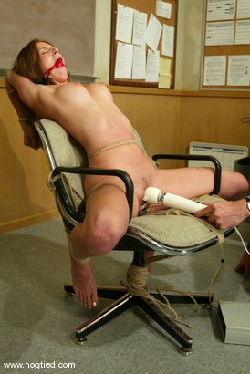 Photo number 4 from Audrey Leigh shot for Hogtied on Kink.com. Featuring Audrey Leigh in hardcore BDSM & Fetish porn.