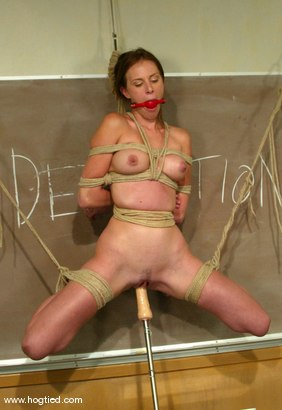Photo number 6 from Audrey Leigh shot for Hogtied on Kink.com. Featuring Audrey Leigh in hardcore BDSM & Fetish porn.