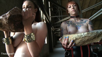 Photo number 14 from Service Day: Sin's Birthday shot for The Upper Floor on Kink.com. Featuring Iona Grace and Sparky Sin Claire in hardcore BDSM & Fetish porn.