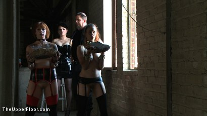Photo number 15 from Service Day: Sin's Birthday shot for The Upper Floor on Kink.com. Featuring Iona Grace and Sparky Sin Claire in hardcore BDSM & Fetish porn.