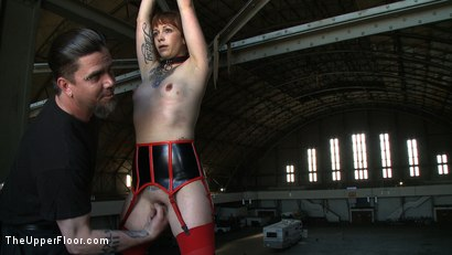 Photo number 8 from Service Day: Sin's Birthday shot for The Upper Floor on Kink.com. Featuring Iona Grace and Sparky Sin Claire in hardcore BDSM & Fetish porn.