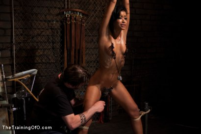 Photo number 4 from Skin Diamond Day One<br>Slave Ransom shot for The Training Of O on Kink.com. Featuring Skin Diamond in hardcore BDSM & Fetish porn.