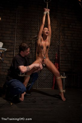 Photo number 7 from Skin Diamond Day One<br>Slave Ransom shot for The Training Of O on Kink.com. Featuring Skin Diamond in hardcore BDSM & Fetish porn.