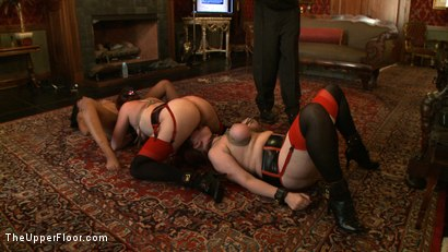 Photo number 7 from Service Day: Flesh shot for The Upper Floor on Kink.com. Featuring Nerine Mechanique, Lilla Katt and Skin Diamond in hardcore BDSM & Fetish porn.