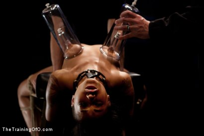 "Photo number 2 from Skin Diamond Day Three<br>""Slave Ransom"" Sexual Training shot for The Training Of O on Kink.com. Featuring Skin Diamond and Maestro in hardcore BDSM & Fetish porn."