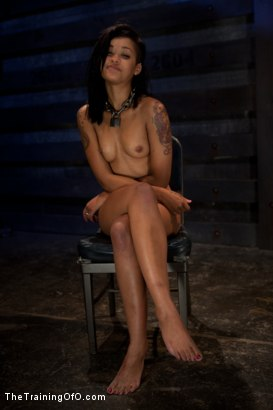 "Photo number 15 from Skin Diamond Day Three<br>""Slave Ransom"" Sexual Training shot for The Training Of O on Kink.com. Featuring Skin Diamond and Maestro in hardcore BDSM & Fetish porn."