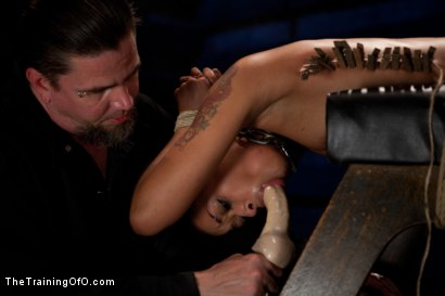 "Photo number 6 from Skin Diamond Day Three<br>""Slave Ransom"" Sexual Training shot for The Training Of O on Kink.com. Featuring Skin Diamond and Maestro in hardcore BDSM & Fetish porn."