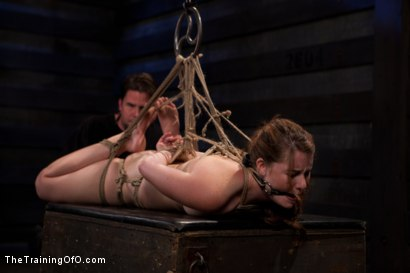 Photo number 11 from Sophia Lauryn-Tested<br>First Timer Experiences Real Bondage and Intense Orgasms! shot for The Training Of O on Kink.com. Featuring Sofia Lauryn in hardcore BDSM & Fetish porn.