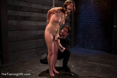 Photo number 3 from Sophia Lauryn-Tested<br>First Timer Experiences Real Bondage and Intense Orgasms! shot for The Training Of O on Kink.com. Featuring Sofia Lauryn in hardcore BDSM & Fetish porn.