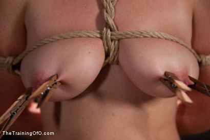 Photo number 5 from Sophia Lauryn-Tested<br>First Timer Experiences Real Bondage and Intense Orgasms! shot for The Training Of O on Kink.com. Featuring Sofia Lauryn in hardcore BDSM & Fetish porn.