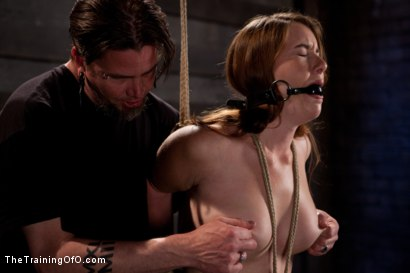 Photo number 1 from Sophia Lauryn-Tested<br>First Timer Experiences Real Bondage and Intense Orgasms! shot for The Training Of O on Kink.com. Featuring Sofia Lauryn in hardcore BDSM & Fetish porn.