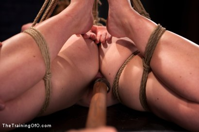 Photo number 10 from Sophia Lauryn-Tested<br>First Timer Experiences Real Bondage and Intense Orgasms! shot for The Training Of O on Kink.com. Featuring Sofia Lauryn in hardcore BDSM & Fetish porn.