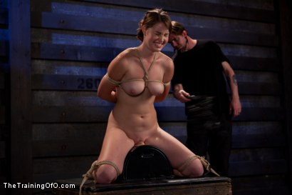 Photo number 4 from Sophia Lauryn-Tested<br>First Timer Experiences Real Bondage and Intense Orgasms! shot for The Training Of O on Kink.com. Featuring Sofia Lauryn in hardcore BDSM & Fetish porn.